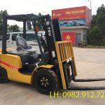Xe nâng 3.5 tấn và ngành sản xuất gạch