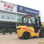 Xe nâng dầu chạy có tốn dầu diesel không?